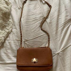 Brown Forever 21 Cross Body Bag